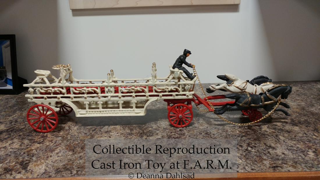 Reproduction Cast Iron Toy FARM