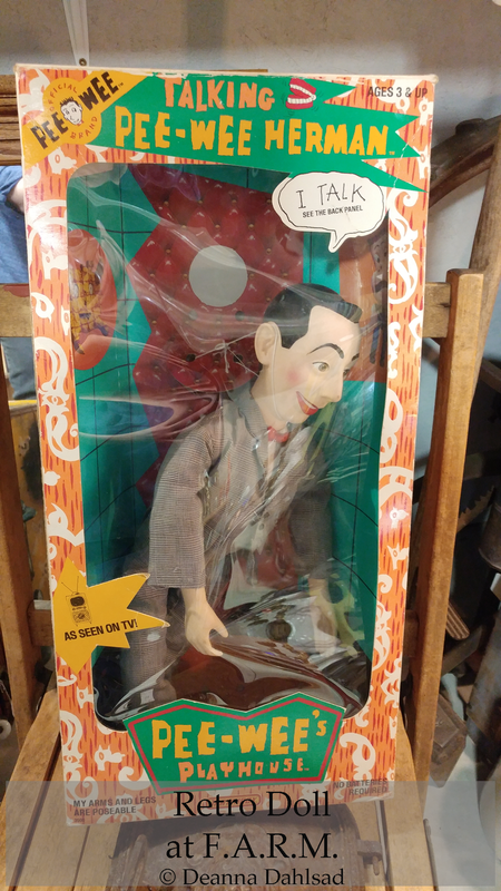 Collectible Retro Pee Wee Herman Doll